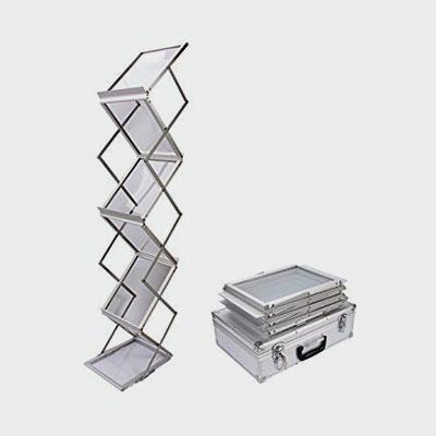 Floorstanding-Leaflet-Holder