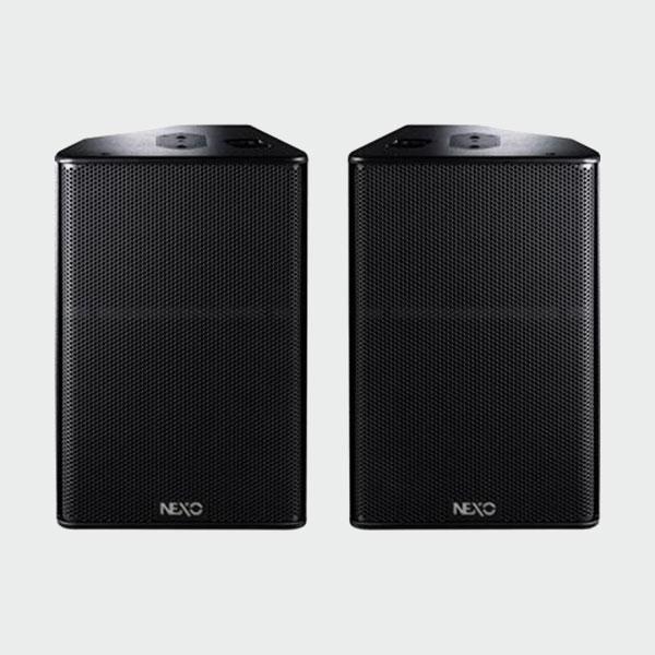 large speaker hire
