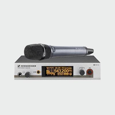 Sennhessier-Wireless-Handheld-Microphones