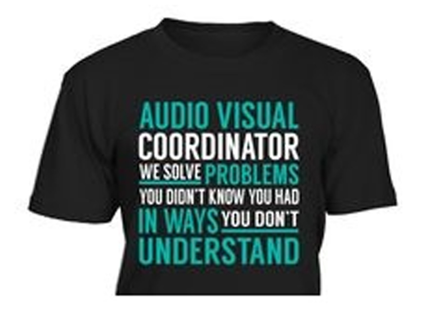 audio visual coordinator