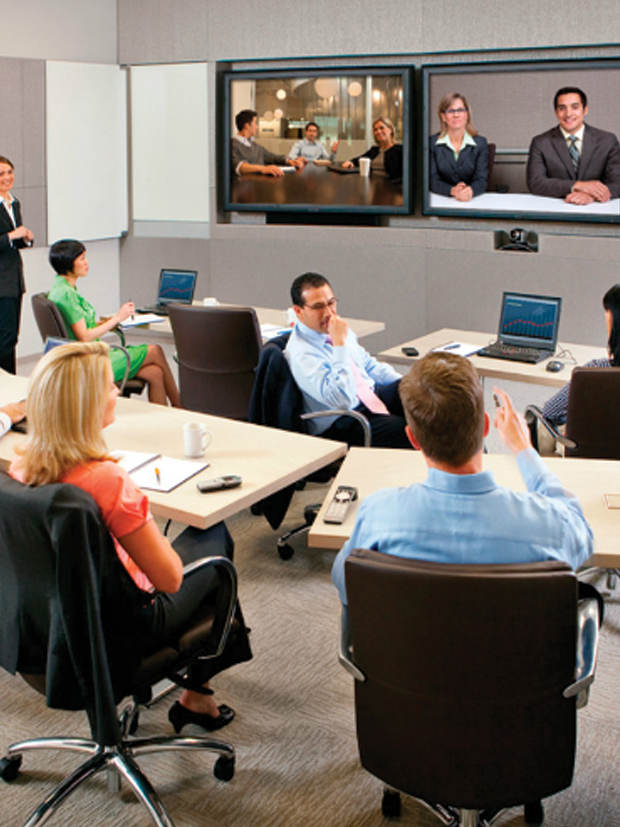 audio visuals for video conferencing